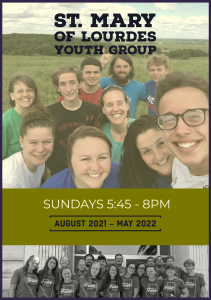 Flyer promoting Youth Group